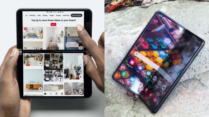 Samsung Galaxy Z Fold 3 vs Microsoft Surface Duo 2