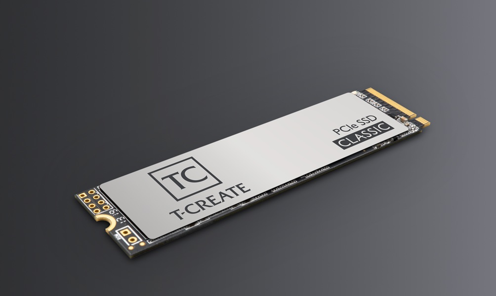 TeamGroup T-Create Classic PCIe 2 TB Gen 3 M.2 SSD