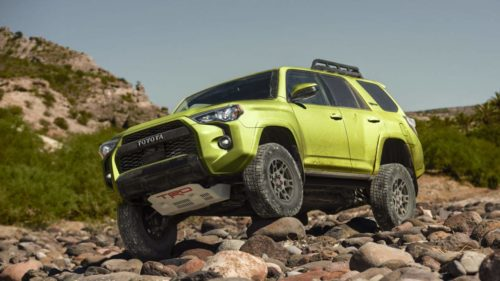 2022 Toyota 4Runner TRD Sport is tuned for road handling and comfort