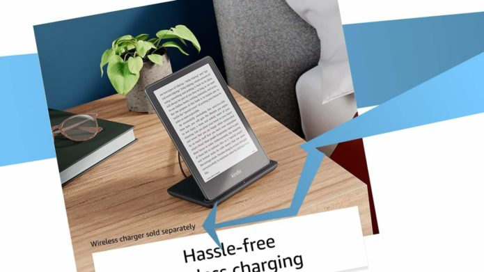 Kindle Paperwhite Signature Edition wireless charger