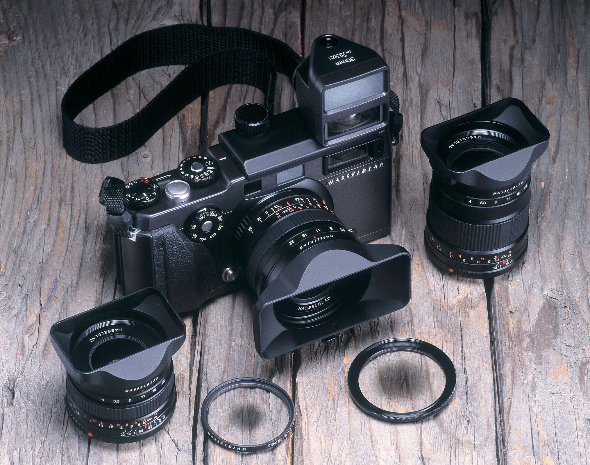 Hasselblad XPan camera