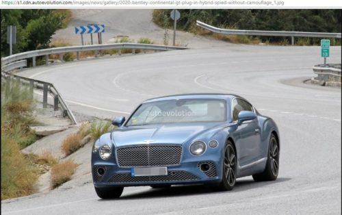 Bentley Continental GT Hybrid Variant Under Consideration