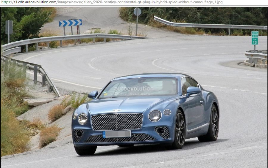 Bentley Continental GT Hybrid