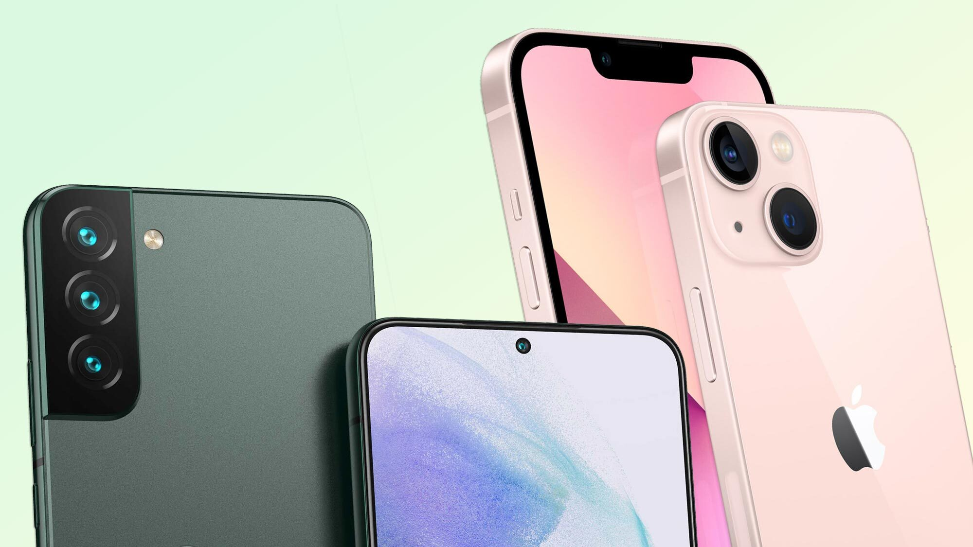 Samsung Galaxy S22 vs. Phone 13