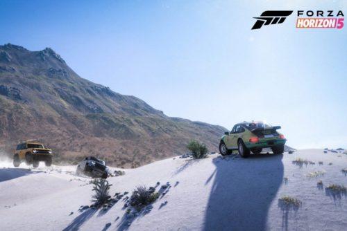 "Forza Horizon 5 will feature ""an evolving world"""