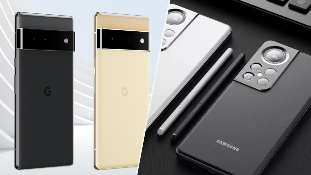 Google Pixel 6 vs Samsung Galaxy S22