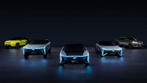 Honda unveils new family of e:N Series electric vehicles for China
