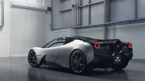 Gordon Murray GMA T.50 debuts at Goodwood, and it sounds like an F1 car