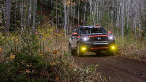2022 Honda Passport is hitting the rally circuit