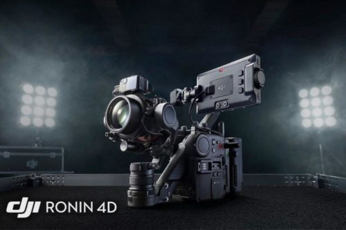 DJI announces the Ronin 4D, the world's first 4-axis cinema camera with 8K/75p recording, Raw capture, LiDAR AF and more