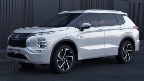2022 Mitsubishi Outlander PHEV wins design award