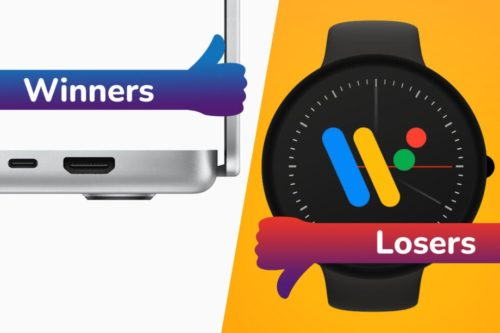 Winners and Losers: MacBook Pro's returning ports, Pixel Watch no-show hurts Wear OS 3