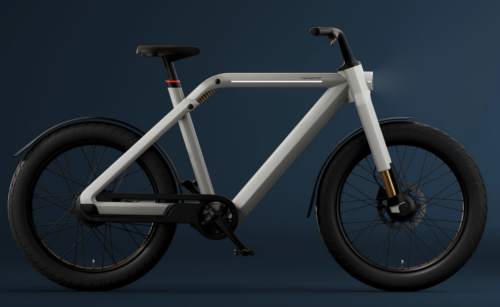 New VanMoof V e-bike can hit 30 mph and is the company's attempt at redefining the category
