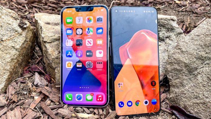 iPhone 13 vs. OnePlus 9