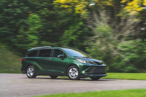 Our 2021 Toyota Sienna Is Already in High Demand