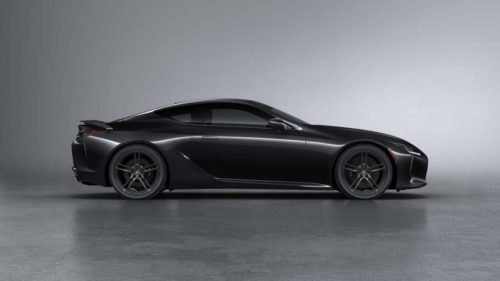 2022 Lexus LC Black Inspiration arrives in the UK with an all-black theme