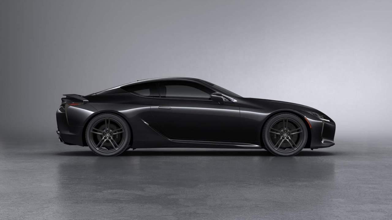 2022 Lexus LC Black Inspiration