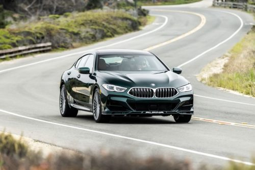 2022 BMW Alpina B8 Gran Coupe Is a Crystal-Studded Cruiser