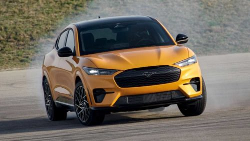2022 Ford Mustang Mach-E Gains Battery Capacity