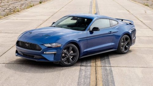 2022 Ford Mustang Stealth Edition Revealed With Black Accents
