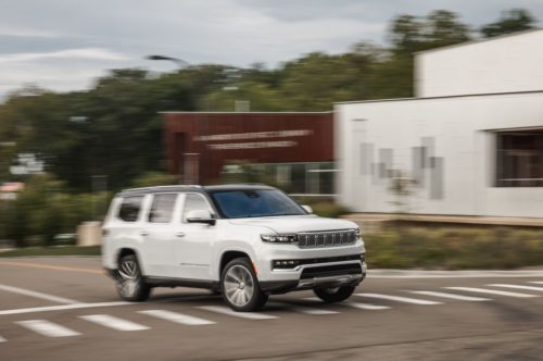 Tested: 2022 Jeep Grand Wagoneer Understands that Luxury SUVs Are about Excess