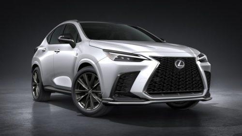 2022 Lexus NX detailed for Australia, here in January