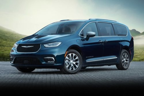 2022 Chrysler Pacifica Getting FWD Version, Other Updates