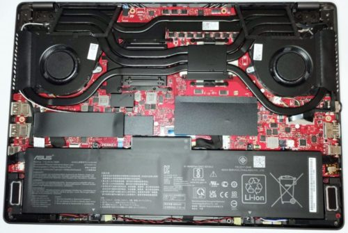 Inside ASUS ROG Zephyrus G14 GA401 (2021) – disassembly and upgrade options