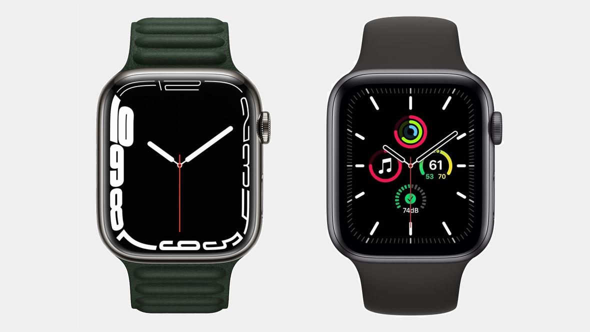 Apple Watch Series 7 v Watch SE