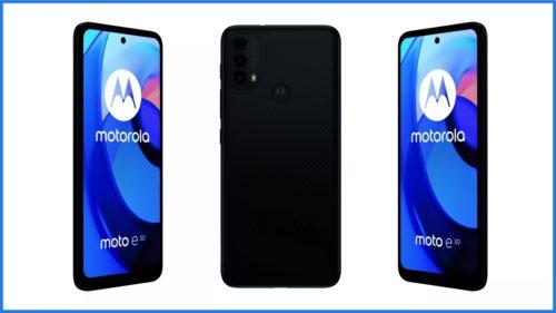 Motorola Moto E30 is a cheaper Moto E40 with Android 11 Go Edition