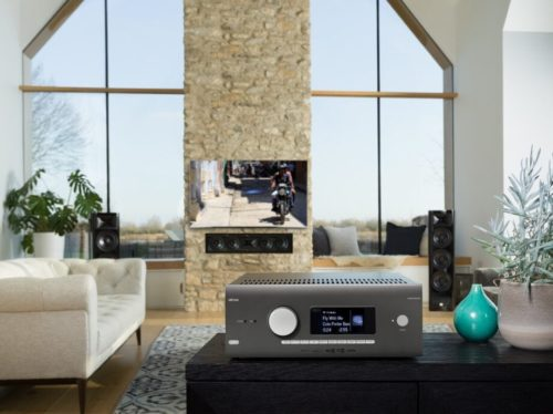 Arcam AVR5 receiver packs in Atmos, Roon Ready and Dirac Live support