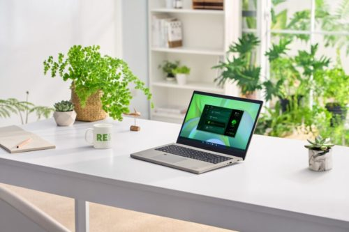 """Acer is launching its first """"green PC"""", the Aspire Vero, in Europe"""