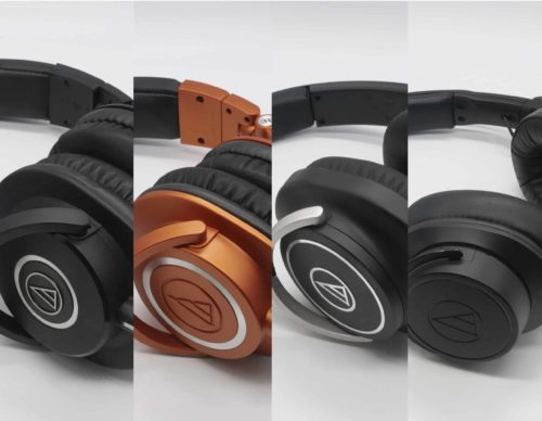 Audio-Technica Comparison: M40x, M50x, M60x, M70x – Can They All Be Used as Studio Headphones?