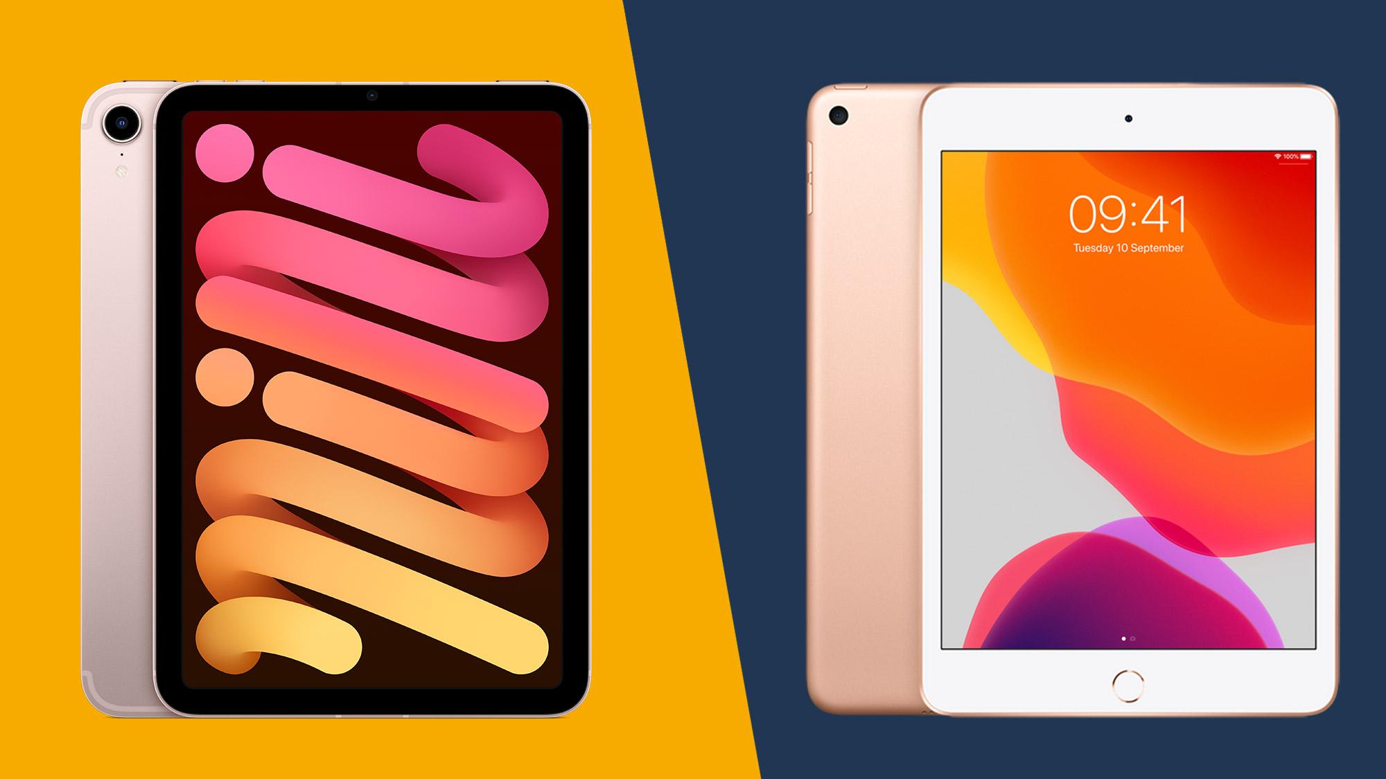 Apple iPad Mini (2021) vs. iPad Mini (2019)