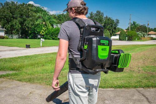 Greenworks 60V X-Range Backpack Blower Review 2420902T