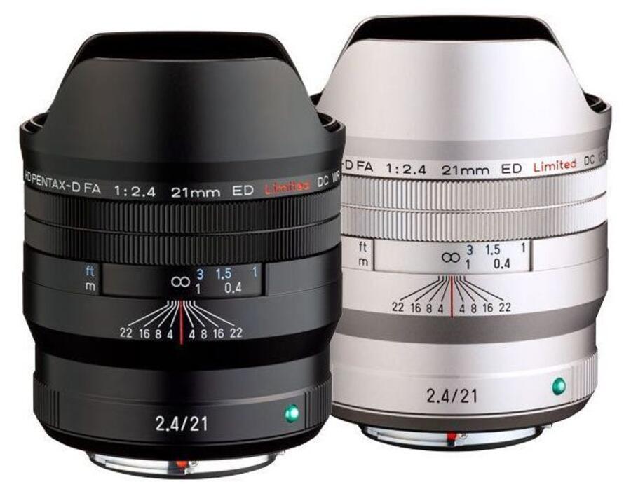 Ricoh HD PENTAX-D FA 21mm f/2.4 ED Limited DC WR Lens