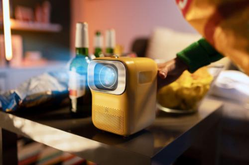 Heyup Boxe: Portable 1080P Mini Smart Projector Available on Kickstarter For Pre-order