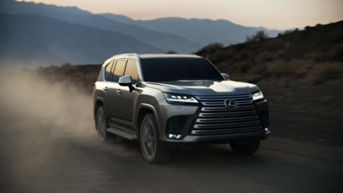 2022 Lexus LX 600 debuts with first-ever F Sport and Ultra Luxury trims