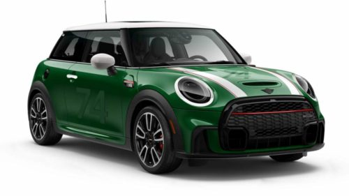2022 Mini Cooper JCW Anniversary Edition is exclusively available in British Racing Green