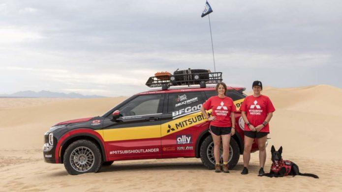 2022 Mitsubishi Outlander Rebelle Rally