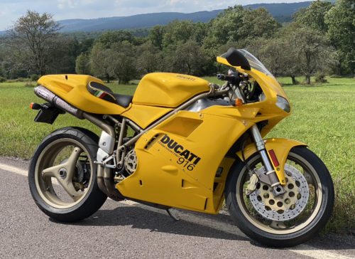 Lieback's Lounge: Ducati 916 Dreams Delivered…in Yellow