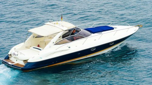 Sunseeker Superhawk 34 yacht tour: 1990s classic gets a new lease of life
