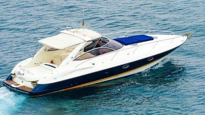 Sunseeker Superhawk 34 yacht