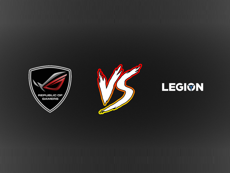 ASUS ROG Zephyrus vs Lenovo Legion