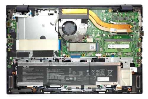 Inside ASUS ExpertBook B1 B1500 – disassembly and upgrade options