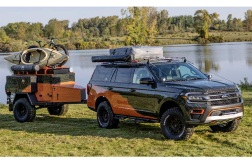 Ford Expedition Timberline Off-Grid Concept is your home away from home