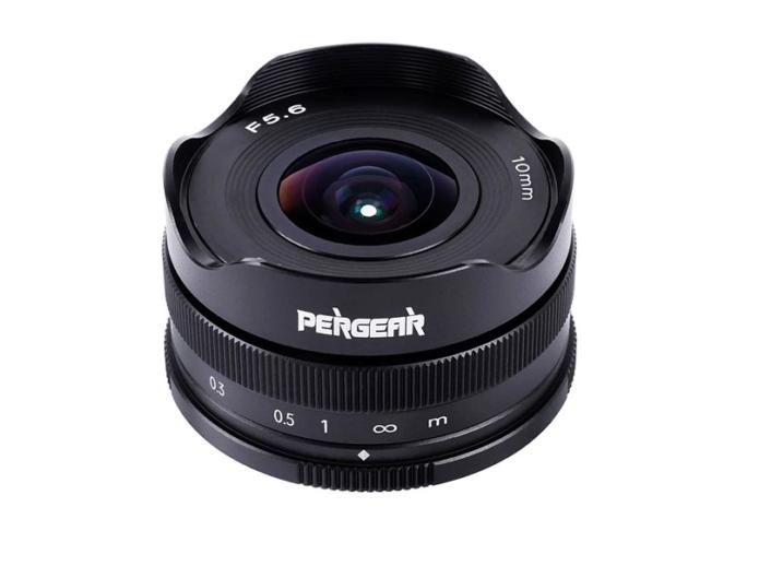 Pergear 10mm F5.6 fisheye lens