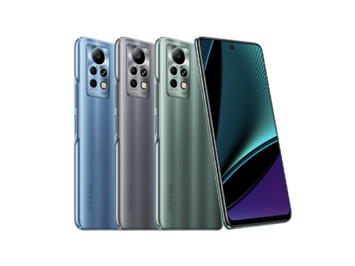 Infinix Note 11 series unveiled: the Pro model has a 6.95″ 120Hz screen, 13MP tele camera