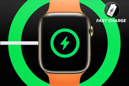 Fast Charge: The Apple Watch 7's speedy charging is a welcome upgrade