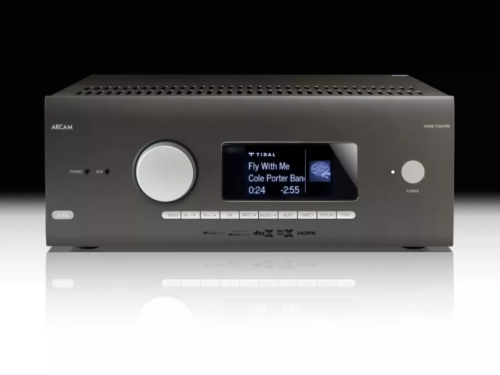 Arcam's entry-level AVR5 offers 12-channel Dolby Atmos decoding, but HDMI 2.1 is an optional extra
